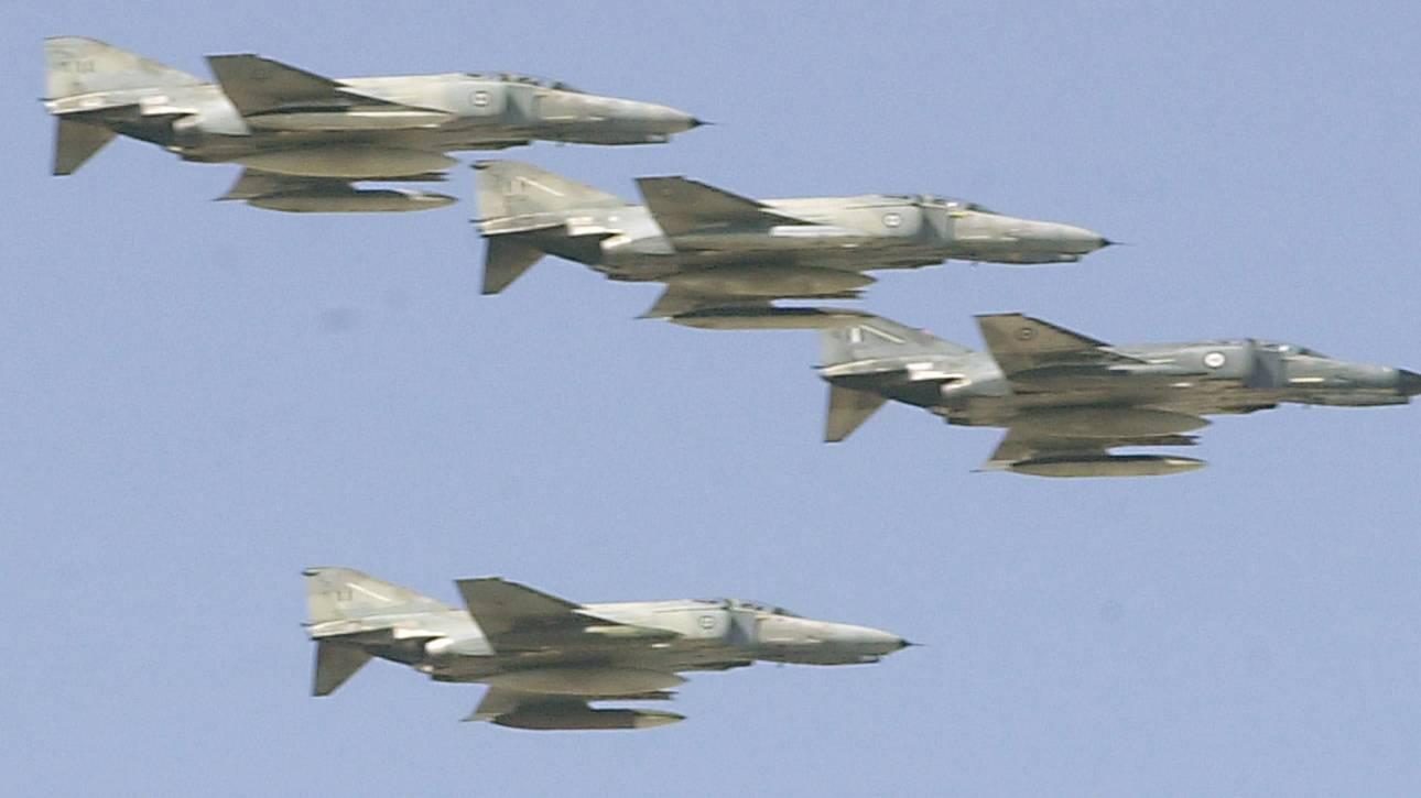 Εικονική αερομαχία και επτά παραβιάσεις στο Αιγαίο από τουρκικά αεροσκάφη