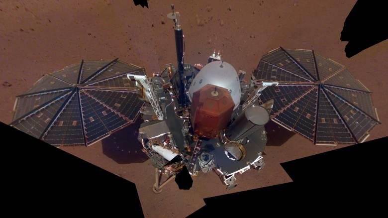 Η πρώτη «σέλφι» του InSight της NASA από τον Άρη