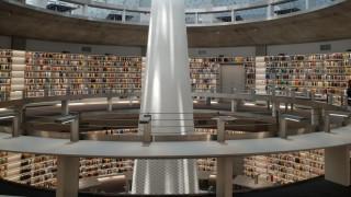 Εντυπωσιάζει η νέα βιβλιοθήκη του Πανεπιστημίου Κύπρου (pics)