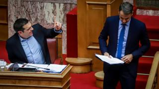 Επιμένει το Μαξίμου: Να ανακαλέσει ο Μητσοτάκης όσα είπε για συνδιαλλαγή Τσίπρα - Ευρωπαίων