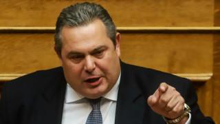 Καμμένος προς πΓΔΜ: «Όσο προκαλούν, η πόρτα της Ελλάδας θα είναι κλειστή»
