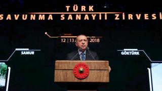 Ερντογάν: Η Κύπρος μάς ανάγκασε να αναπτύξουμε αμυντική βιομηχανία