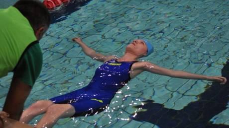 Αλεξάνδρα Σταματοπούλου: Πρωταθλήτρια στη ζωή και την κολύμβηση