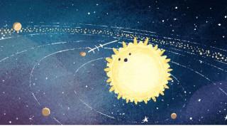 Google Doodle: Θεαματική βροχή των Διδυμίδων το βράδυ της Πέμπτης
