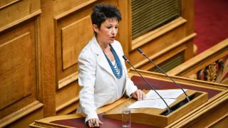 Μομφή για αντικοινοβουλευτική συμπεριφορά στον Γρηγοράκο ζητά η Καββαδία