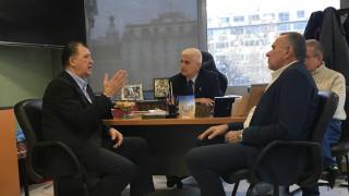 Ο υποψήφιος δήμαρχος Θεσσαλονίκης Γ. Ορφανός στον Σύλλογο Πολυτέκνων «Οι Άγιοι Πάντες»