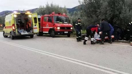 Οικογενειακή τραγωδία στην Αργολίδα: Νεκρός ο πατέρας σε τροχαίο, στο νοσοκομείο μάνα και παιδί
