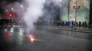 «Φρούριο» η Θεσσαλονίκη: Ένταση και προσαγωγές πριν από την ομιλία Τσίπρα