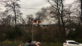 Εκκενώθηκε ζωολογικός κήπος λόγω πυρκαγιάς στη Βρετανία