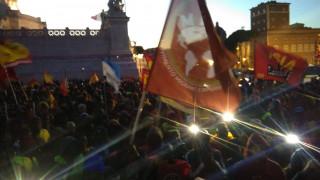 «Κίτρινα γιλέκα» και στη Ρώμη για την αντιμεταναστευτική πολιτική της κυβέρνησης