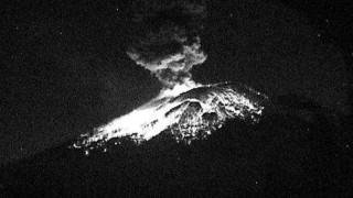 Συναγερμός στο Μεξικό μετά από ισχυρή έκρηξη ηφαιστείου
