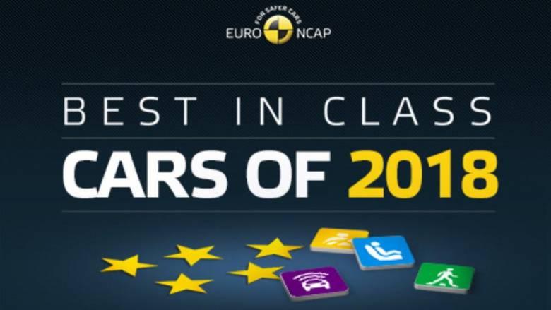 Δείτε τα πιο ασφαλή αυτοκίνητα για το 2018 κατά τον EuroNCAP