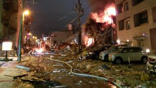 Ισχυρή έκρηξη σε εστιατόριο στην Ιαπωνία - Περισσότεροι από 40 οι τραυματίες (pic&vid)