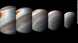 Εκπληκτικές φωτογραφίες του Juno από τον πλανήτη Δία
