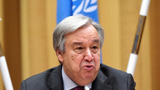 Γκουτέρες: Παράδειγμα επίλυσης διακρατικών διαφορών η Συμφωνία των Πρεσπών