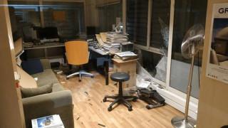 Βόμβα στον ΣΚΑΪ: Σοβαρές οι υλικές ζημιές στο κτήριο του σταθμού (vid)