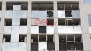 Βόμβα στον ΣΚΑΪ: Βίντεο από drone αποτυπώνει τις εκτεταμένες ζημιές στο κτήριο