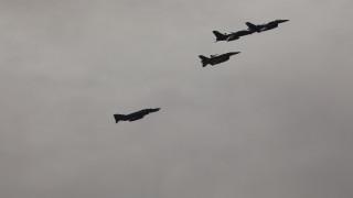 Πτήσεις τουρκικών μαχητικών πάνω από τους Ανθρωποφάγους και το Μακρονήσι