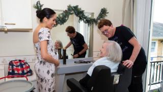 Η «πολύ έγκυος» Μέγκαν Μαρκλ έκανε ακόμη μία σόλο επίσκεψη