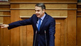 Μητσοτάκης: Καταψηφίζουμε την κυβέρνηση που έκανε χειρότερη τη ζωή των Ελλήνων
