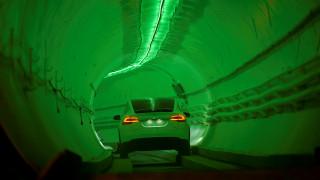 Έτοιμη η σήραγγα του Έλον Μασκ που θα λύσει το κυκλοφοριακό πρόβλημα στο Λος Άντζελες