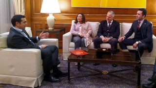 Με την Τυνήσια κάτοχο του Νόμπελ Ειρήνης συναντήθηκε ο Τσίπρας