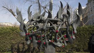 Εισαγγελική παρέμβαση για τη βεβήλωση του Μνημείου του Ολοκαυτώματος στη Θεσσαλονίκη