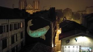 Μια τοιχογραφία «μαγική εικόνα» με οικολογικό μήνυμα στη νότια Γαλλία
