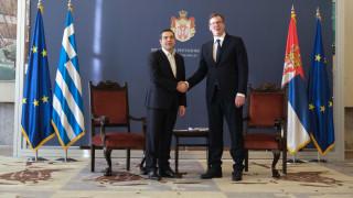 Βούτσιτς σε Τσίπρα: Με τη συμφωνία των Πρεσπών Σερβία και Ελλάδα θα συνδεθούν περισσότερο