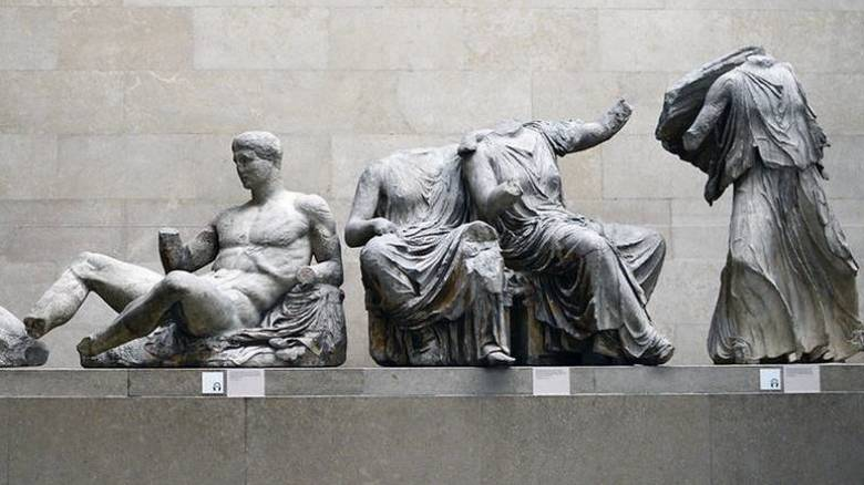 Βρετανικό Μουσείο: Στάζουν νερά κοντά στα Γλυπτά του Παρθενώνα