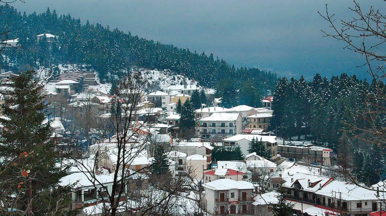 Ελάτη - Περτούλι - Νεραϊδοχώρι: Μία κατάλευκη διαδρομή προς την κορυφή