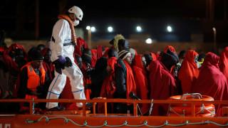 Διάσωση εκατοντάδων μεταναστών στα ανοιχτά της Λιβύης από ισπανική ΜΚΟ