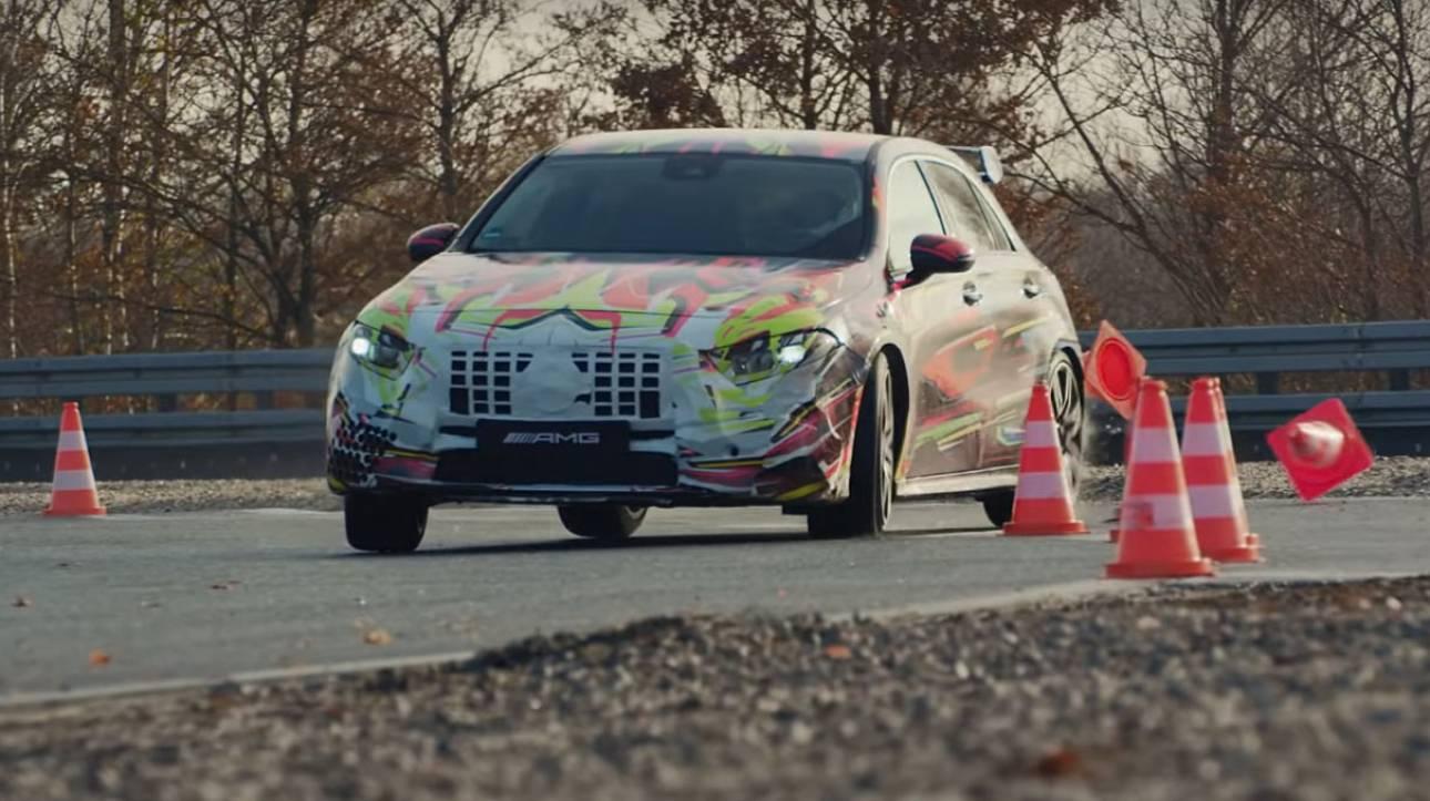 Δείτε το εντυπωσιακό teaser βίντεο της νέας Mercedes-AMG A 45 των 400+ ίππων