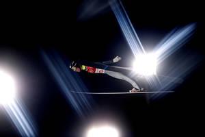 Ο Alexey Romashov, στους Χειμερινούς Ολυμπιακούς αγώνες στην Πιόνγκτσανγκ.