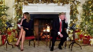 Η χριστουγεννιάτικη... γκάφα Τραμπ: Ρώτησε 7χρονη αν εξακολουθεί να πιστεύει στον Άγιο Βασίλη