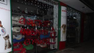Θεσσαλονίκη: Επίθεση αντιεξουσιαστών σε pet shop για τα τζάγκουαρ του Αττικού Πάρκου