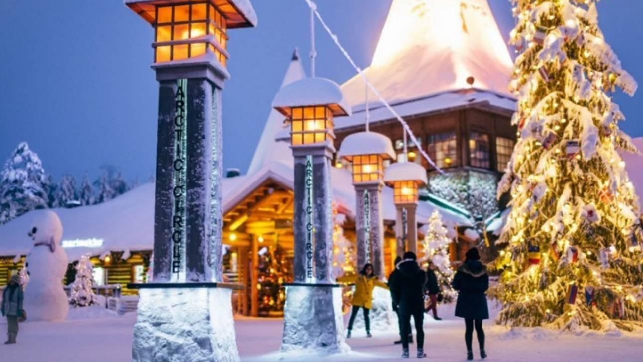 Ροβανιέμι: Μαγικά Χριστούγεννα στο χωριό του Άη Βασίλη (pics&vid)