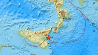 Ιταλία: Σεισμός στη Σικελία