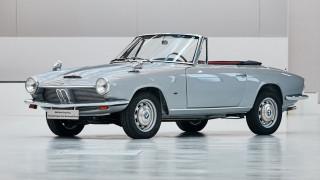 Η BMW αναπαλαίωσε τη μια και μόνη 1600 GT Convertible που υπάρχει στον κόσμο