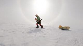 Ο πρώτος άνθρωπος στην Ιστορία που διέσχισε ολόκληρη την Ανταρκτική με σκι και χωρίς βοήθεια