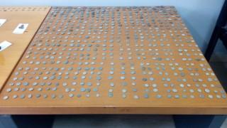 Λάρισα: 55χρονος είχε στην κατοχή του 693 αρχαία νομίσματα