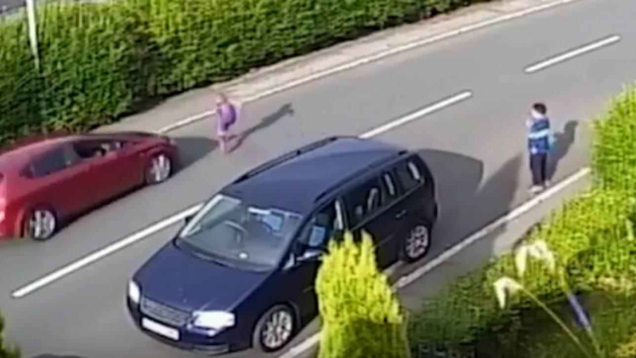 Βίντεο: Αυτοκίνητο παρασύρει 11χρονο και τον εκτινάσει σε μεγάλη απόσταση