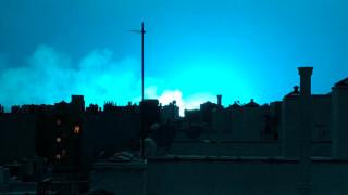 Ο... μπλε ουρανός που αναστάτωσε τη Νέα Υόρκη
