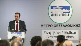 Σπίρτζης: Το μετρό Θεσσαλονίκης απόδειξη ότι η πόλη μπορεί να γίνει βαλκανικό κέντρο