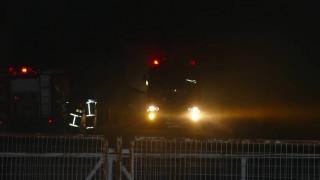 Φωτιά σε εργοστάσιο επίπλων στη Λάρισα
