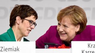 Γερμανία: Η νέα επικεφαλής του CDU είναι πιο δημοφιλής από τη Μέρκελ