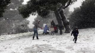 O «Ραφαήλ» και η «Σοφία» φέρνουν πολικό ψύχος: Χιονοπτώσεις και στην Αττική