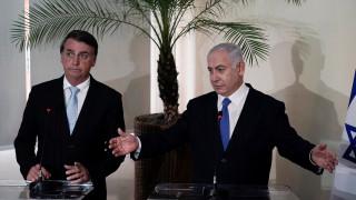 Μπολσονάρου: Το θέμα είναι το πότε, όχι το εάν θα μεταφέρω την πρεσβεία μας στην Ιερουσαλήμ