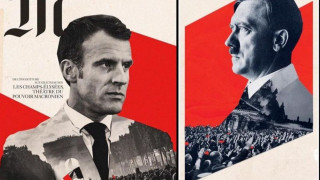 Σάλος στη Γαλλία: Εξώφυλλο της Le Monde με τον Μακρόν παραπέμπει στον Χίτλερ