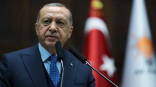 Ερντογάν: Eπιδεικνύουμε αποφασιστικότητα σε Κύπρο, Αιγαίο και Α. Μεσόγειο